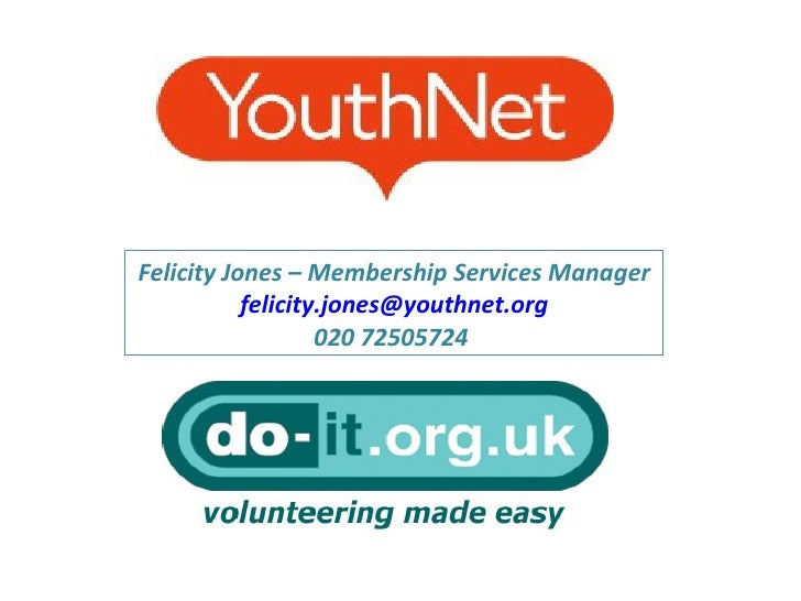 Felicity Jones – Membership Services Manager [email_address] 020 72505724