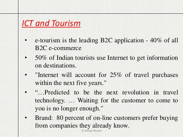 Ict in tourism - Research paper Sample