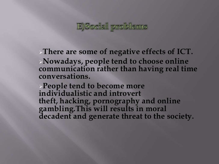 a discussion on the negative effects of pornography I will try to remember to post some points from class discussion as well as some resources and  who argue that viewing pornography has negative effects on.
