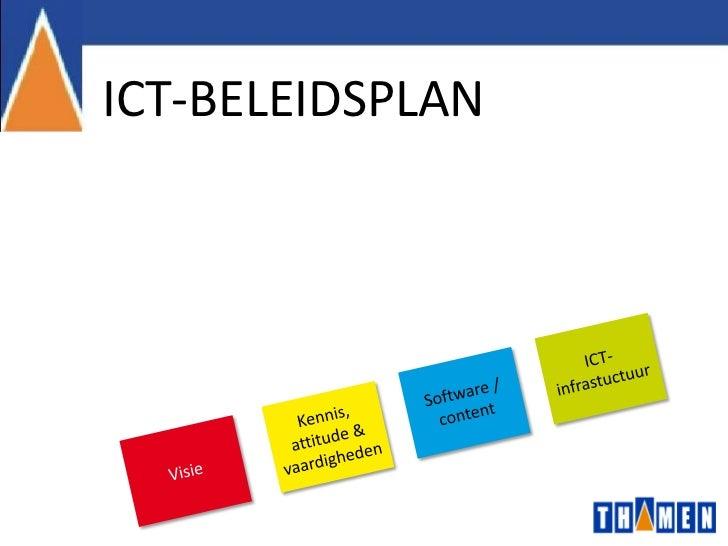 ICT-BELEIDSPLAN