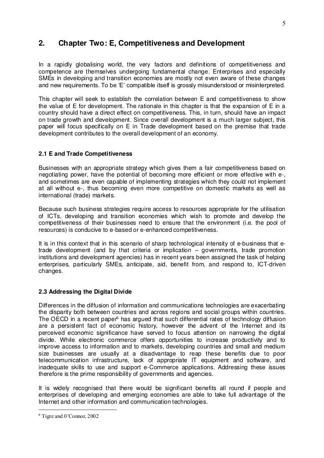 ict competitiveness and trade development 8