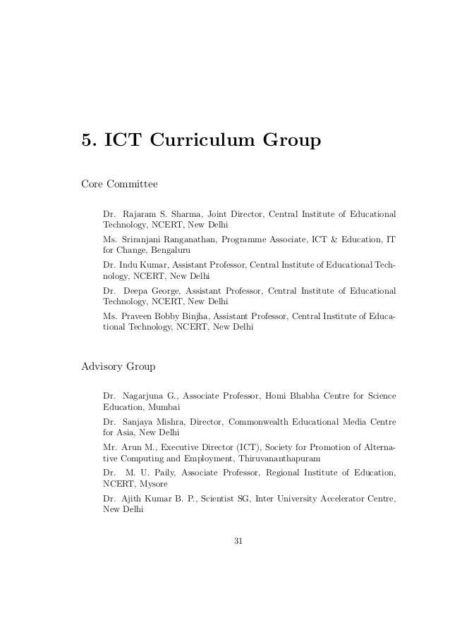 Ict curricula