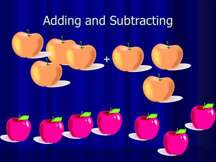 Adding and Subtracting +