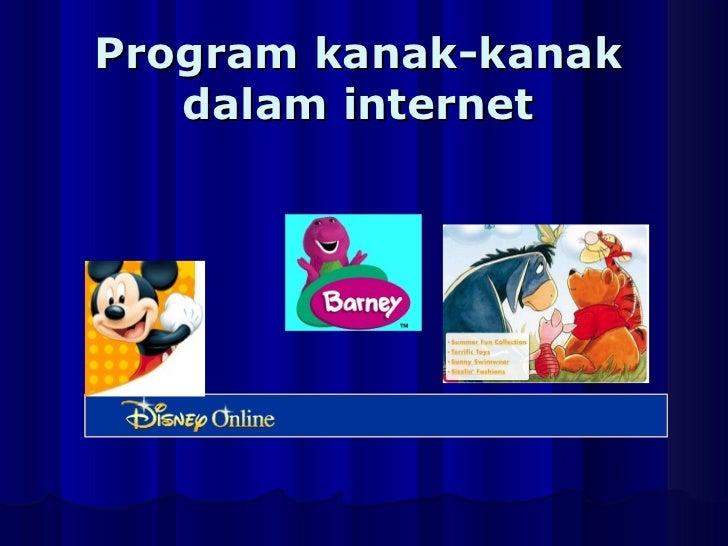 Program kanak-kanak dalam internet