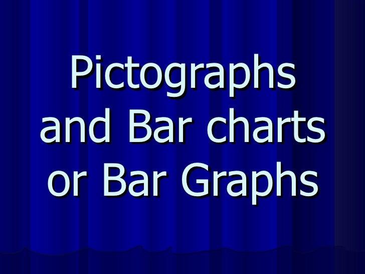 Pictographs and Bar charts or Bar Graphs