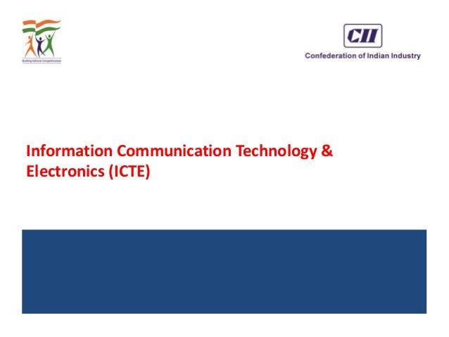 Information Communication Technology & Electronics (ICTE)