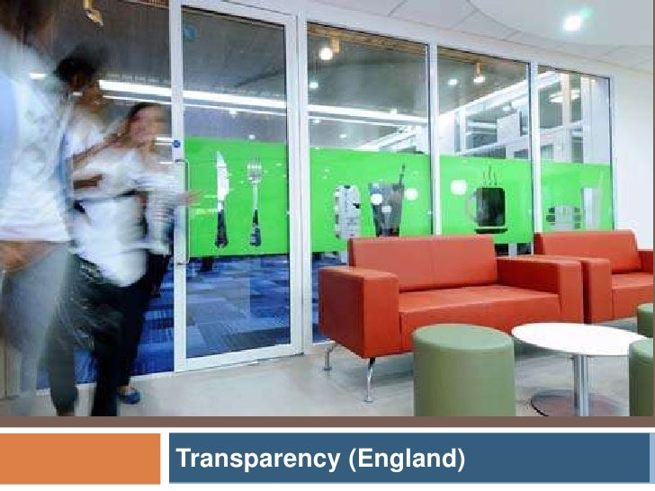 Transparency (England)