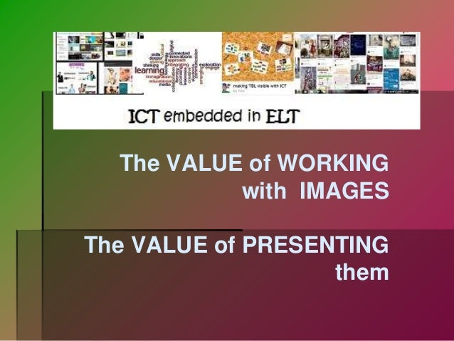 ICT in ELT (Information and Communications Technology in English Language Teaching)