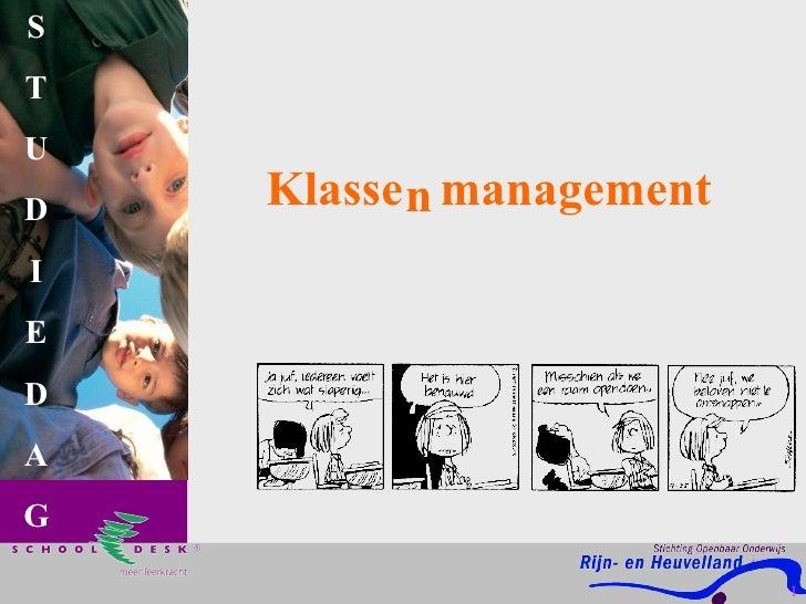 S     T U D       Klasse n management I E D A G                               1                                   1