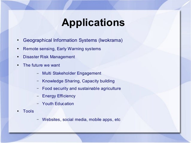 role of remote sensing in disaster management pdf