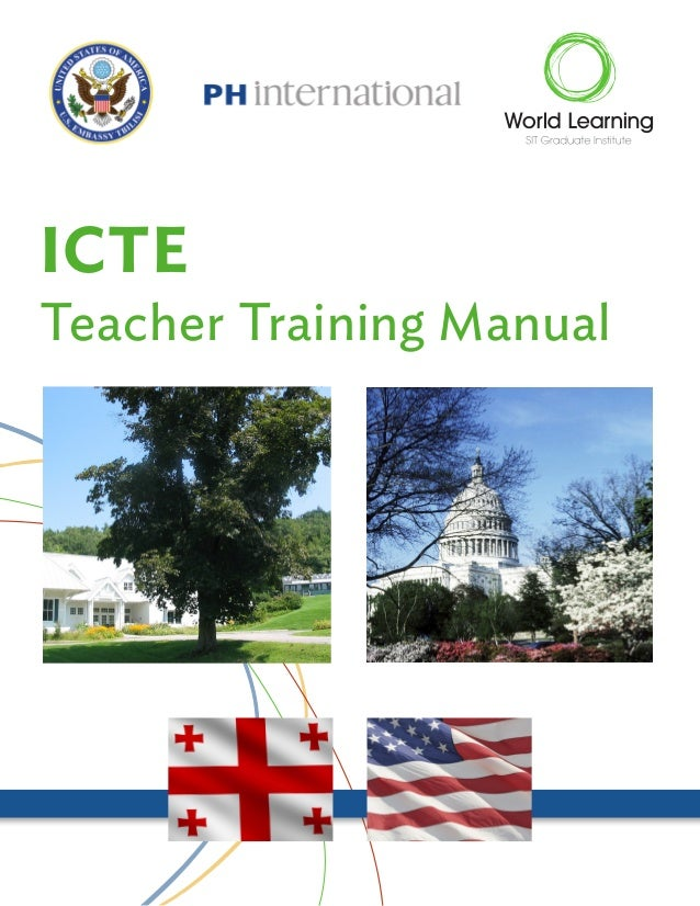 ICTE  Teacher Training Manual