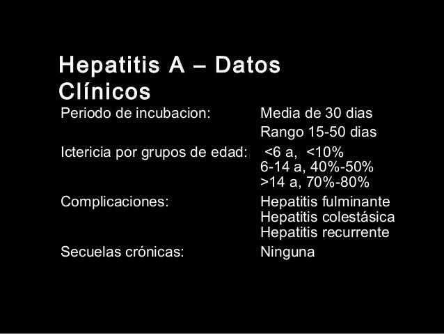 Hepatitis por Virus B • Zona de baja endemicidad: <2 % de portadores • Zona de endemicidad intermedia: 2-7 % • Zona de alt...