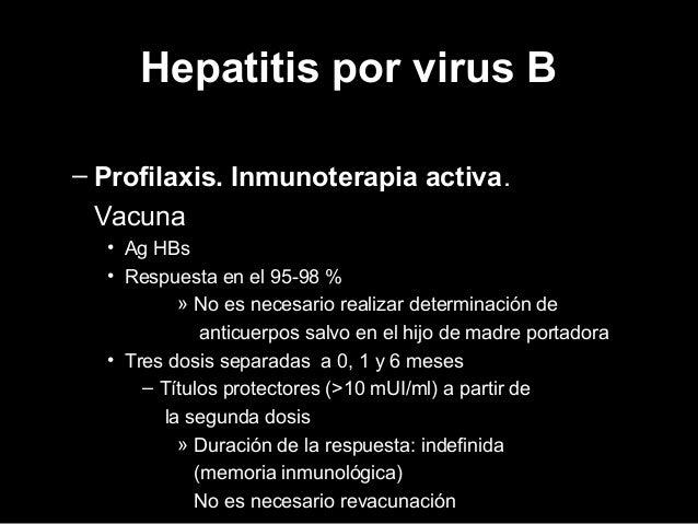  Coinfección VHB-VHD Profilaxis pre o postexposición de la Hepatitis B.  Sobreinfección VHB-VHD Educación para reducir l...