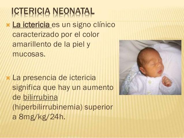 Color de piel ictericia neonatal pdf