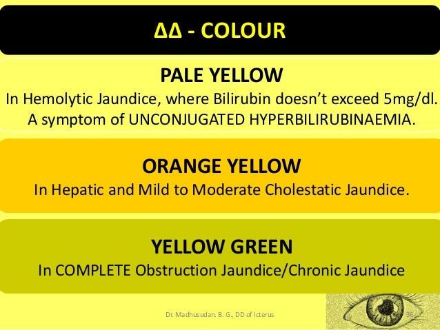 Differential Diagnosis Of Icterus Jaundice