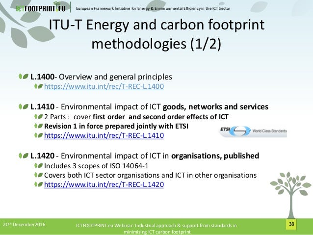 ict footprint Check out professional insights posted by ict footprint eu, european framework initiative for energy & environmental efficiency in the ict sector.