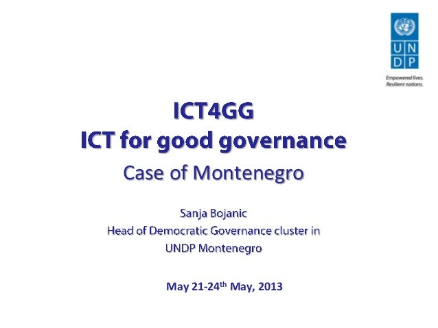 May 21-24th May, 2013Case of Montenegro