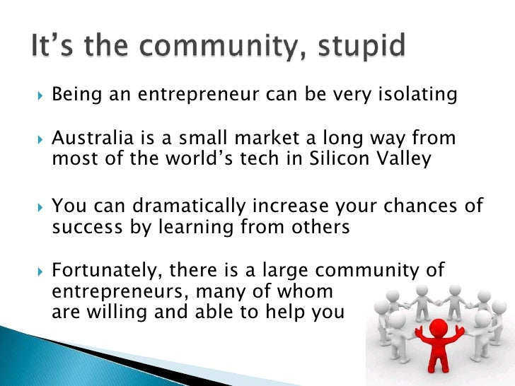 Getting Plugged Into The Startup Scene Slide 2