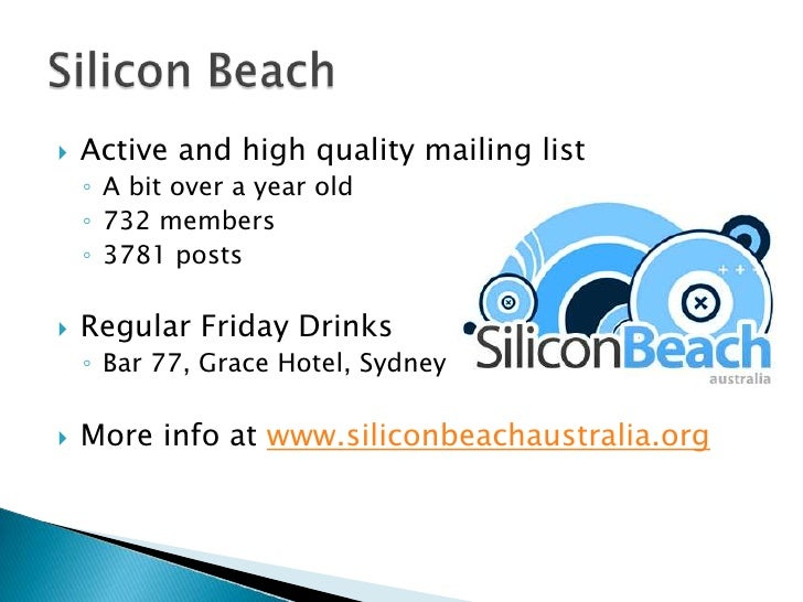 Getting Plugged Into The Startup Scene Slide 3