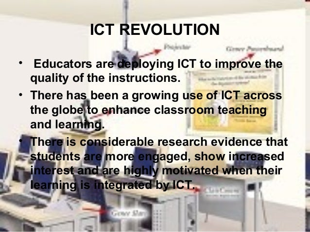 ict in the classroom to enhance teaching Make the best use of their classroom technology to enhance teaching, learning and assessment understand the benefits of using ict to support literacy, numeracy, sen and stem identify and use a range of educational tools and applications.