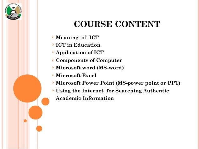 thesis in ict education A thesis is the only option for students pursuing the master of science in educational technology degree students are required to get advisor permission, write and defend a full proposal, in order to register for thesis credits.