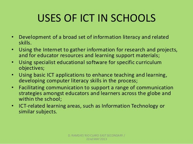 ict and language learning teaching methods information technology essay Information and communication technology (ict) in the service of multiculturalism this paper presents an online inter-group contact hypothesis (oich) model, developed within the israel education system, whereby online and distance learning (odl) is used in the service of multiculturalism.