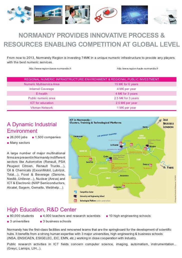 ICT In Normandy Overview Slide 2