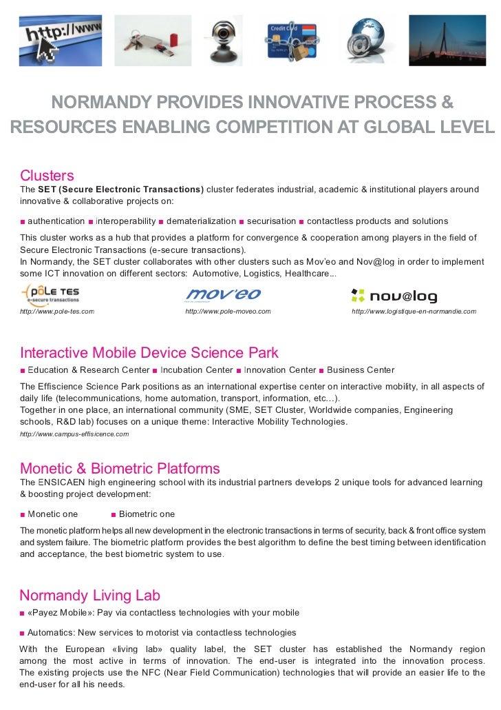 ICT In Normandy Overview Slide 3