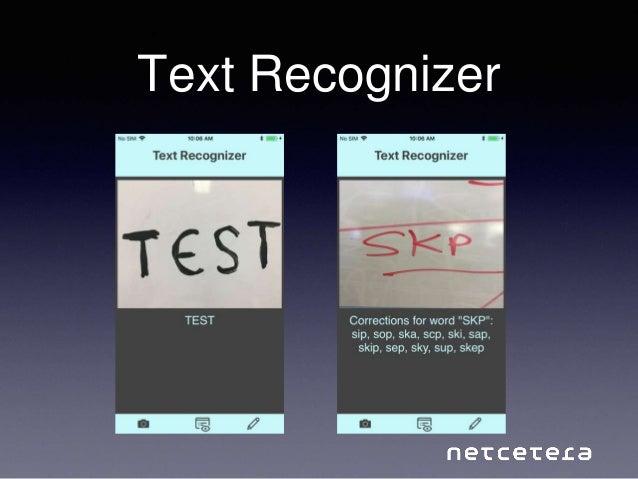 Text Recognizer