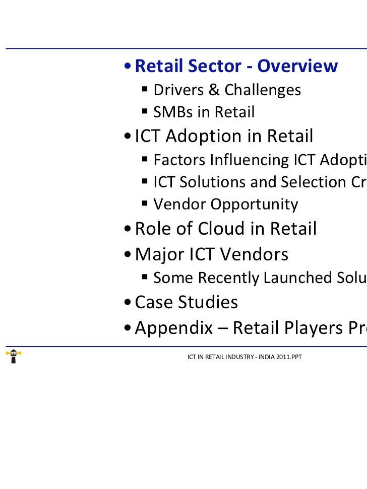 Study on retail sector