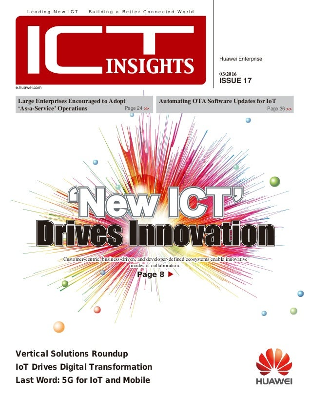 ICT Insights Issue 17 (03/2016)
