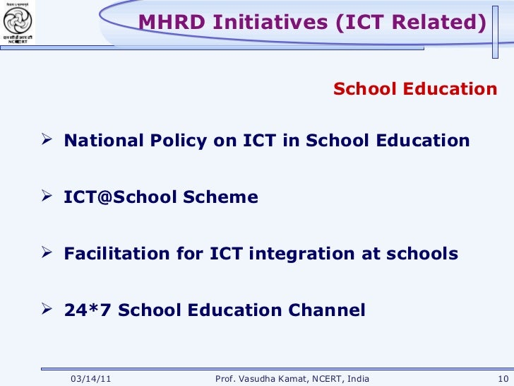 integrating ict in education Integrating ict in teaching and learning in west and central african schools evaluate the effects of ict integration on the quality of education 4 identify the factors that contribute significantly to the sustainability of icts in schools.