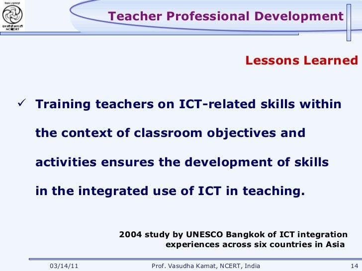 integration of ict in teacher education The importance of teachers in integrating ict into science teaching in intermediate schools in saudi arabia: a mixed methods study a thesis submitted in fulfilment of the requirements for the degree of.