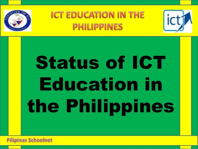 ict in the philippines education