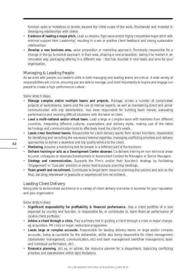 ICT Job Outlook Malaysia 2013