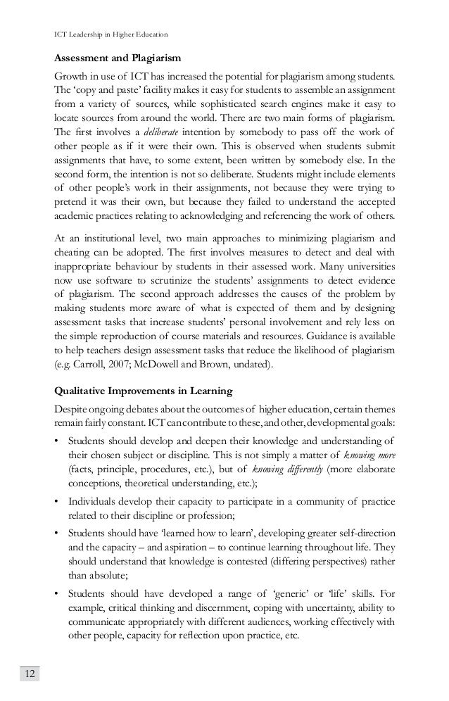 Ict Leadership In Higher Education Selected Readings