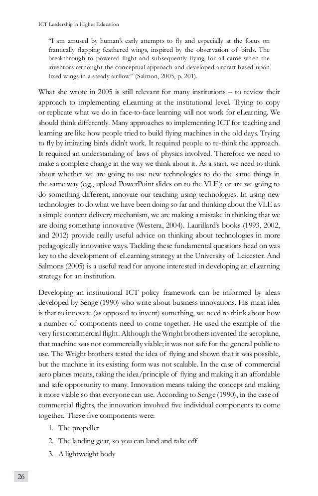 leadership in higher education pdf