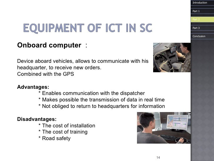 Onboard  computer  :  Device aboard vehicles, allows to communicate with his headquarter, to receive new orders. Combined...