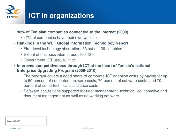 ict report A internship report of ict professionals information technology essay print reference this published: 23rd march the final report of the project was presented to the staff in boardroom to explain how it will work and help them reducing paper work and ict utilization and roles of.