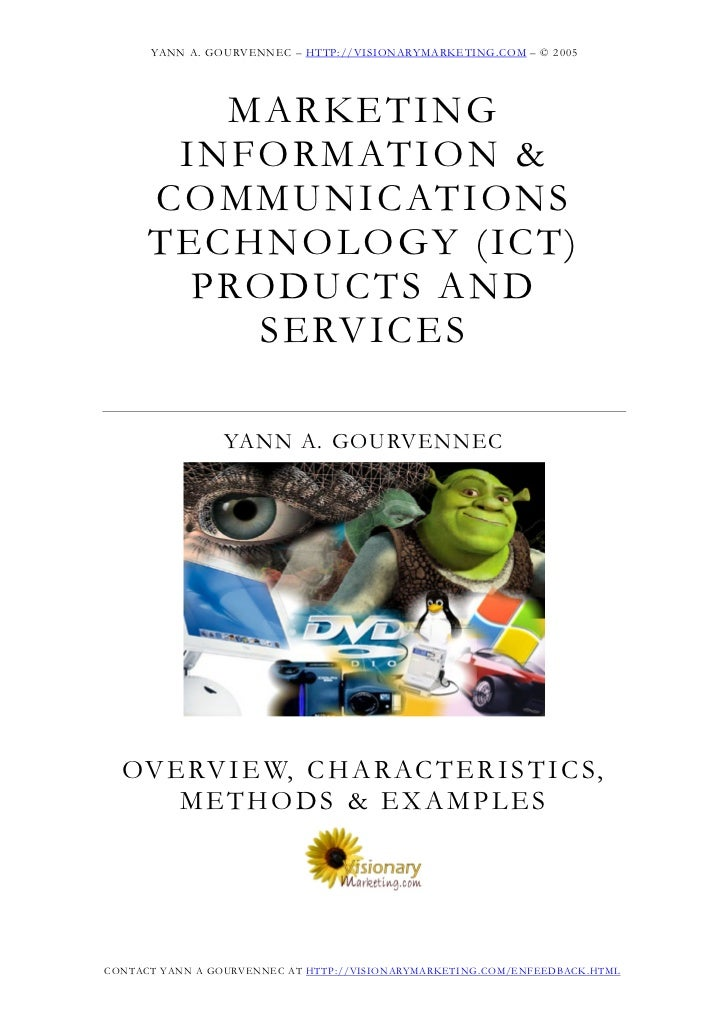 YANN A. GOURVENNEC – HTTP://VISIONARYMARKETING.COM – © 2005           M A RKE T I N G        I N F ORM ATI ON &      C OM ...