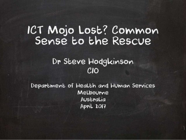 ICT Mojo Lost and Regained by Platform+Agile   Dr Steve Hodgkinson