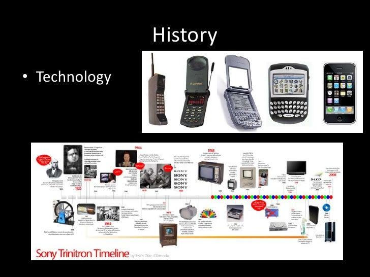 History• Technology