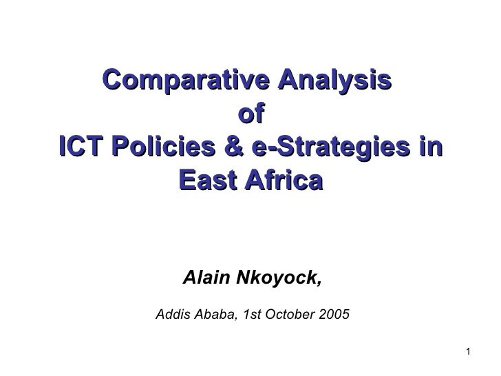 ICT Policies In East Africa   Comparative Analysis