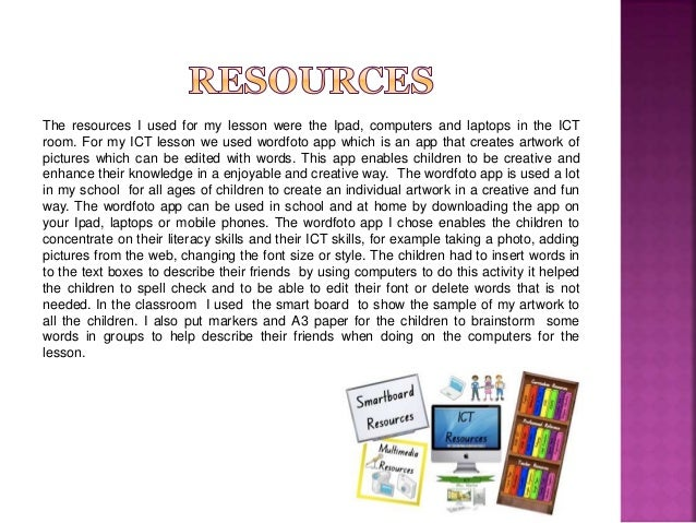 supporting childrens ict skills Ict has a powerful role to play in supporting the learning of children with  in  sen learning, young children with limited writing skills and older.