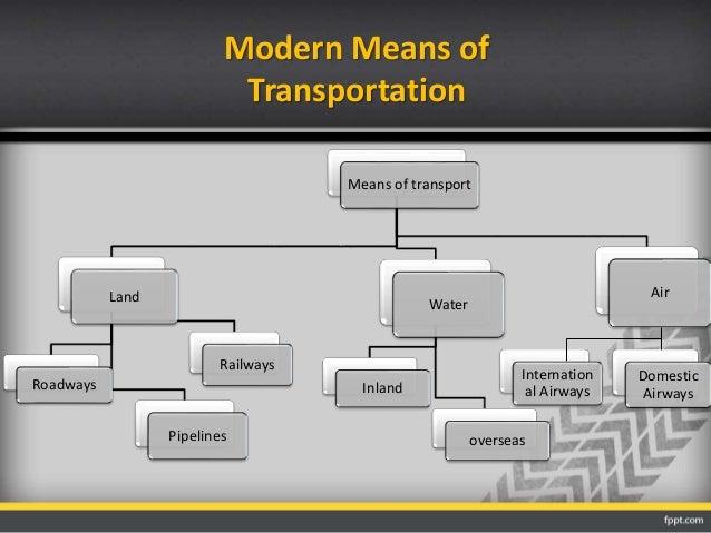 modern means of transport 1 led to creation of jobs like for drivers, pilots and engineers 2 has enhanced international co-operation 3 has enhanced political control of countries because of sound transport.