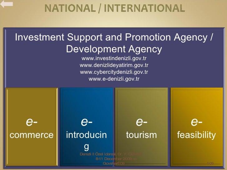 Denizli İl Özel İdaresi, Dr. Y. ÖZMEN,  8-11 December 2009, e-GovsharE09 Investment Support and Promotion Agency / Develop...