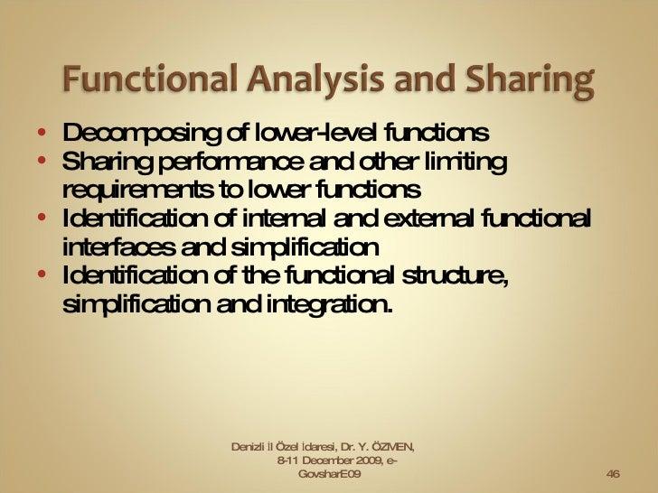 <ul><li>D e composing of  l ower-level functions </li></ul><ul><li>Sharing  p erformance and other limiting requirements t...