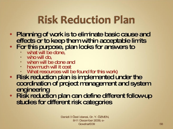<ul><li>Planning of work is to eliminate basic cause and effects or to keep them within acceptable limits </li></ul><ul><l...