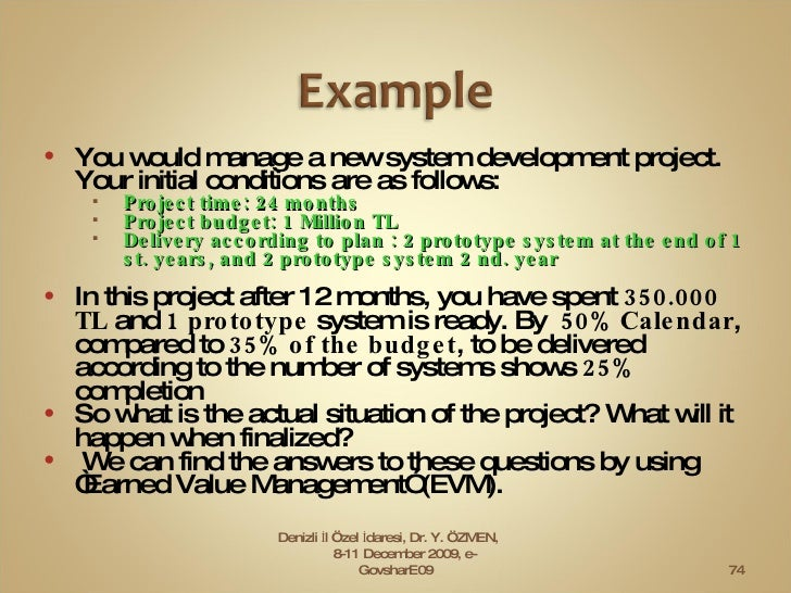 <ul><li>You would manage a new system   development project. Your initial conditions are as follows: </li></ul><ul><ul><li...