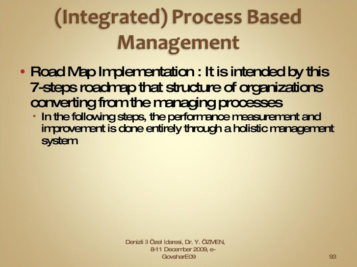 <ul><li>Road Map Implementation : It is intended by this 7-steps roadmap that structure of organizations converting from t...